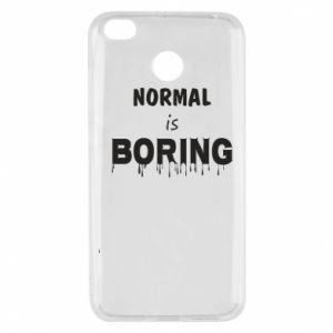 Etui na Xiaomi Redmi 4X Normal is boring