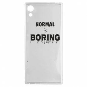 Etui na Sony Xperia XA1 Normal is boring