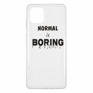 Etui na Samsung Note 10 Lite Normal is boring