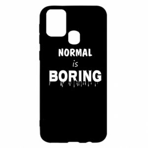 Etui na Samsung M31 Normal is boring