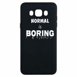Etui na Samsung J7 2016 Normal is boring