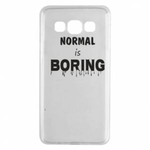 Etui na Samsung A3 2015 Normal is boring