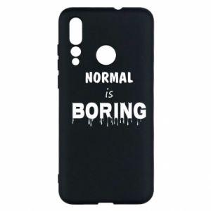 Etui na Huawei Nova 4 Normal is boring