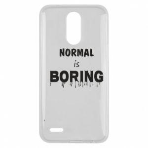 Etui na Lg K10 2017 Normal is boring