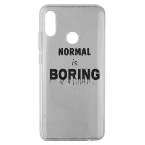 Etui na Huawei Honor 10 Lite Normal is boring