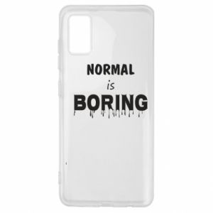 Etui na Samsung A41 Normal is boring