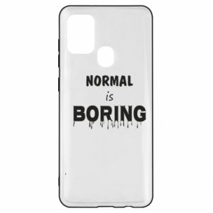 Etui na Samsung A21s Normal is boring