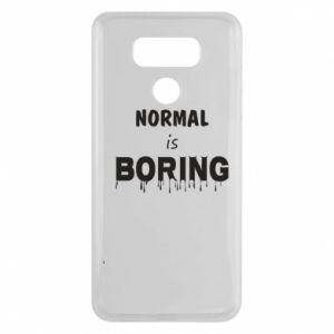 Etui na LG G6 Normal is boring