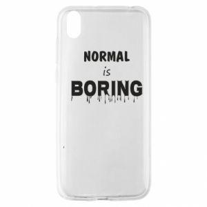 Etui na Huawei Y5 2019 Normal is boring