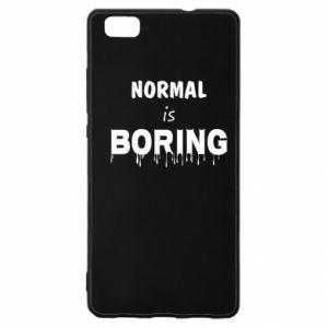 Etui na Huawei P 8 Lite Normal is boring