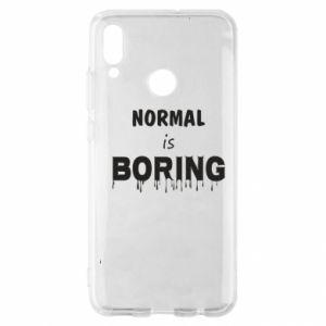 Etui na Huawei P Smart 2019 Normal is boring