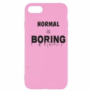 Etui na iPhone SE 2020 Normal is boring