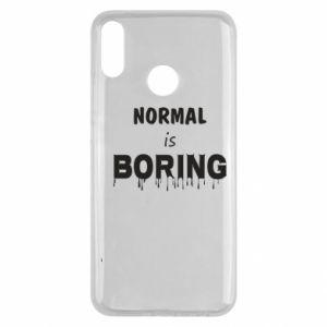 Etui na Huawei Y9 2019 Normal is boring