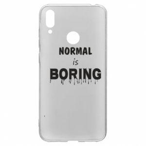 Etui na Huawei Y7 2019 Normal is boring