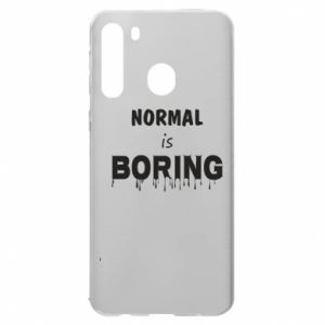 Etui na Samsung A21 Normal is boring