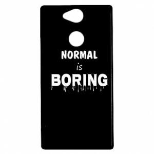 Etui na Sony Xperia XA2 Normal is boring