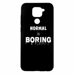 Etui na Xiaomi Redmi Note 9/Redmi 10X Normal is boring