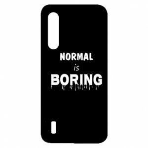 Etui na Xiaomi Mi9 Lite Normal is boring