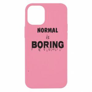 Etui na iPhone 12 Mini Normal is boring