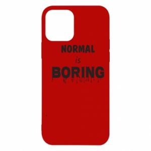 Etui na iPhone 12/12 Pro Normal is boring