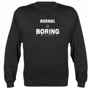 Bluza (raglan) Normal is boring