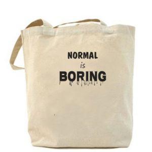 Torba Normal is boring