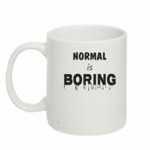 Kubek 330ml Normal is boring