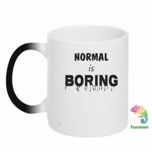 Kubek-magiczny Normal is boring