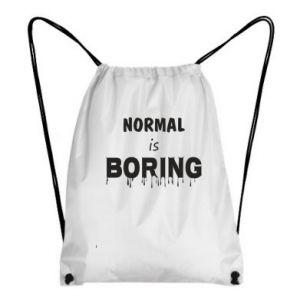 Plecak-worek Normal is boring