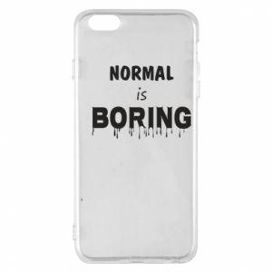 Etui na iPhone 6 Plus/6S Plus Normal is boring
