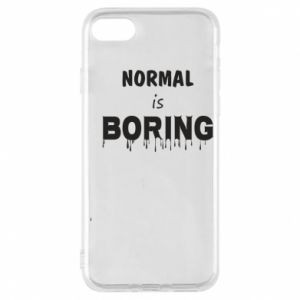 Etui na iPhone 7 Normal is boring
