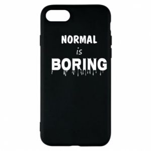 Etui na iPhone 8 Normal is boring