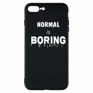 Etui na iPhone 8 Plus Normal is boring