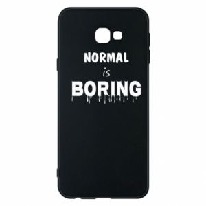 Etui na Samsung J4 Plus 2018 Normal is boring