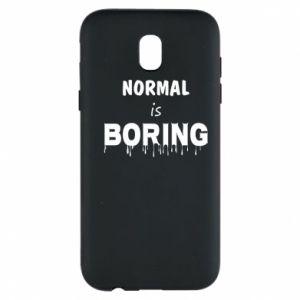 Etui na Samsung J5 2017 Normal is boring