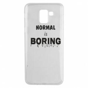 Etui na Samsung J6 Normal is boring