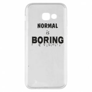 Etui na Samsung A5 2017 Normal is boring