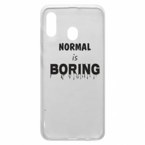 Etui na Samsung A20 Normal is boring
