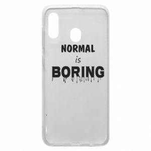 Etui na Samsung A30 Normal is boring