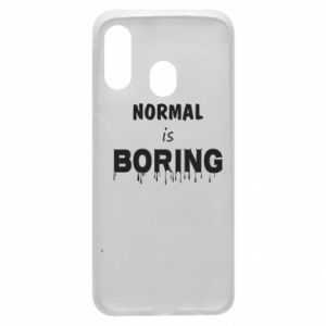 Etui na Samsung A40 Normal is boring