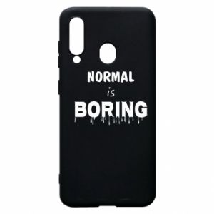 Etui na Samsung A60 Normal is boring