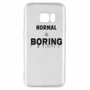 Etui na Samsung S7 Normal is boring