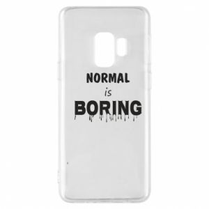 Etui na Samsung S9 Normal is boring