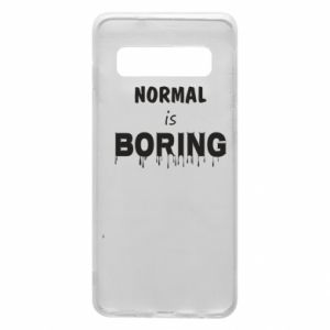 Etui na Samsung S10 Normal is boring