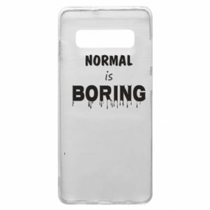 Etui na Samsung S10+ Normal is boring