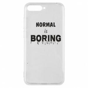 Etui na Huawei Y6 2018 Normal is boring