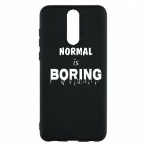 Etui na Huawei Mate 10 Lite Normal is boring
