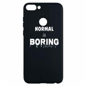 Etui na Huawei P Smart Normal is boring
