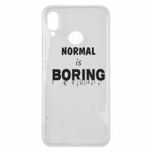 Etui na Huawei P Smart Plus Normal is boring