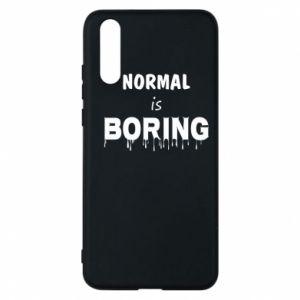 Etui na Huawei P20 Normal is boring